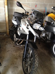 So exciting to see the first of our customisation with the bash plate and crash bars