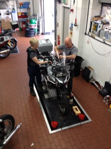 Bike maintenance with North Oxford BMW