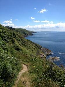 Cornwall coast walk