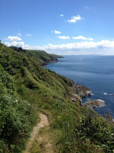 Cornwall coast walk