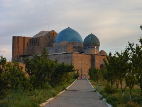 Mausoleum of Khoja Ahmed Yasawi in Turkistan