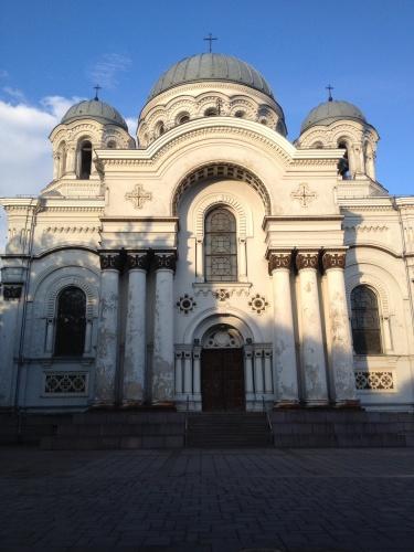 St Michael the Archangel church in Kaunas, Lithuania