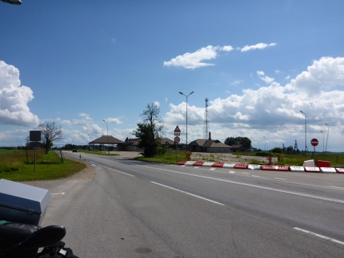 Lituania/Latvia border