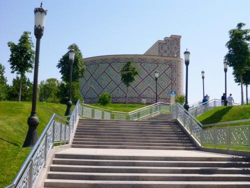 Ulugh-Beg museum at his observatory, Samarkand, Uzbekistan