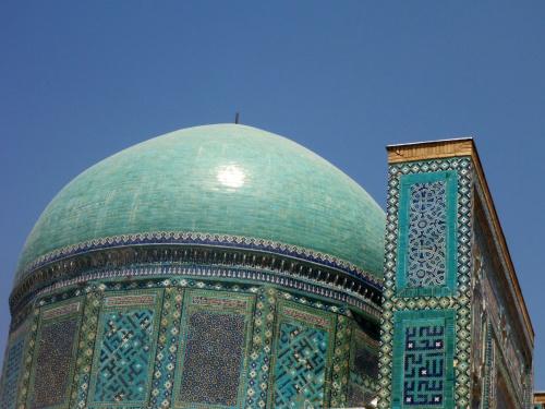 Shahi-Zinda necropolis, Samarkand, Uzbekistan