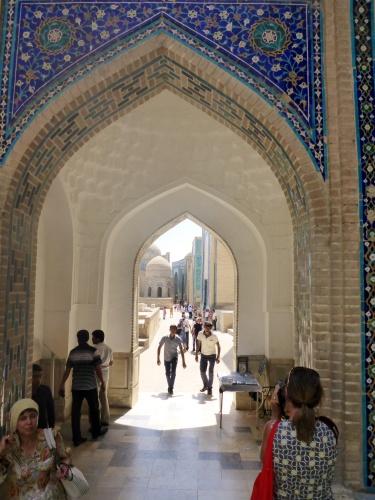 Shahi-Zinda ensemble, Samarkand, Uzbekistan