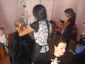 It's too hot to walk around Bukhara, so why not get a hair cut and enjoy a new experience?!