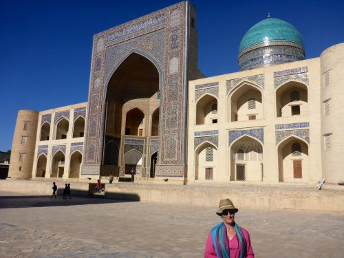 Miri Arab madrassah, Poi-Kalon ensemble, Bukhara, Uzbekistan