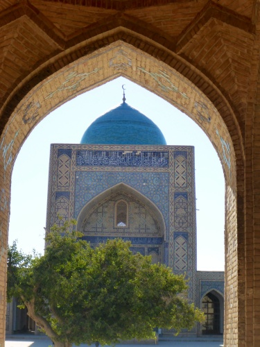 Emir Alim Khan madrassah, Poi-Kalon ensemble, Bukhara, Uzbekistan
