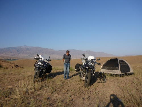 Our wonderful home, outside Toktogul, Kyrgyzstan