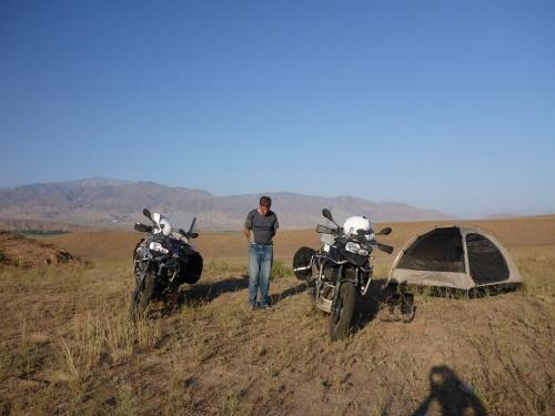 Our wonderful home, outside Toktogul, Kyrgyzstan