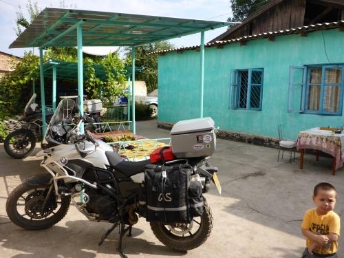 Our Guest house at Tash-Kömür, Kyrgyzstan