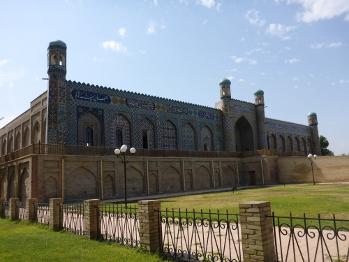 Kudhayar Khan Palace in Kokand (Qo'qon), Uzbekistan