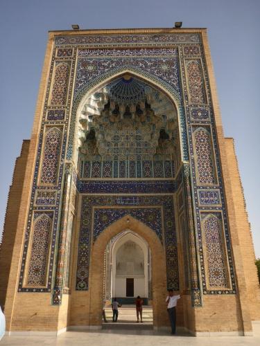 Amir Temur mausoleum, Samarkand, Uzbekistan