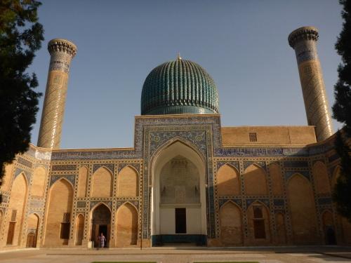 Amir Temur, Tamerlane, mausoleum, Samarkand, Uzbekistan