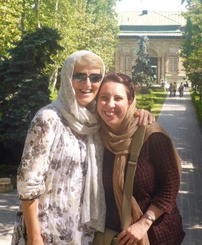 With Saba at the Green Palace, Saadabad Palaces, Darband - Tehran, Iran
