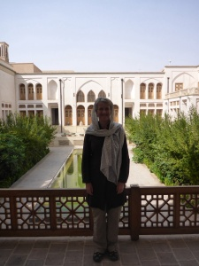 Our hotel in Kashan, the Manoucheri hotel - a beautifully renovated traditional home