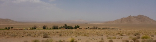 Scenery between Kashan and Esfahan, Iran