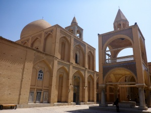 Vank cathedral in Jolfa district, Isfahan, Iran