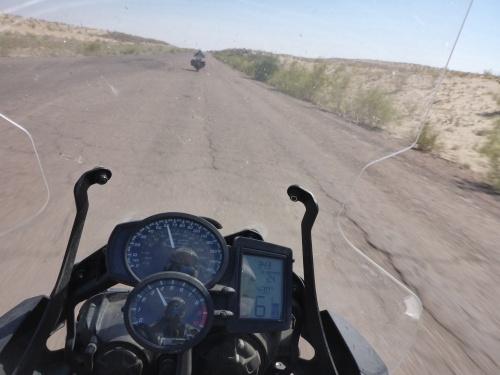 Gettting hotter on our way through Turkmenistan