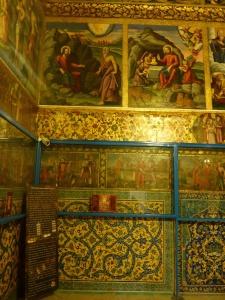 Inside Vank cathedral, Isfahan, Iran