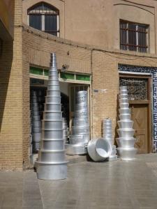 Household pots, Yazd, iran