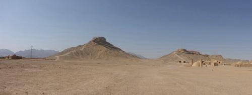 Zoroastrian Towers of Silence, Yazd, Iran