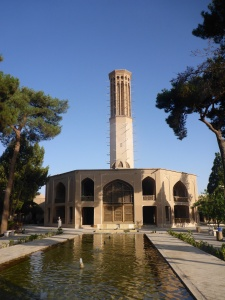 Dolat Abad with Iran's  tallest Bagdir, Yazd, iran