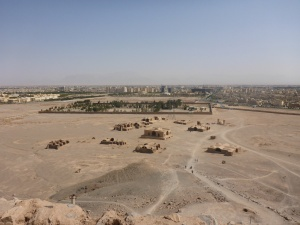 View from the Towers of Silence, towards Yazd, Iran