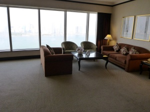 Our living room in Sharjah