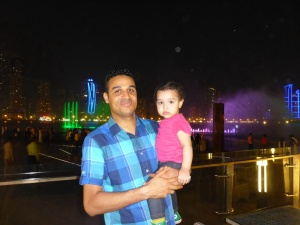 Mostafa from our hotel very kindly took us out to dinner with his daughter Aya