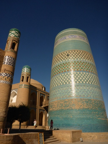 Kaltar Minar minaret, Ichan Kala