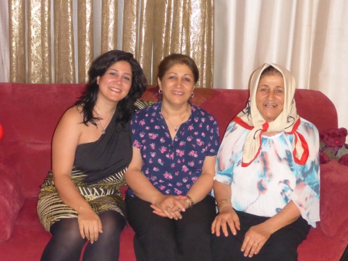 3 gorgeous ladies - Afrooz, her mum and grandmum -  Behshahr