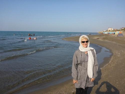 Not quite my idea of fun at the beach - Nur, Iran