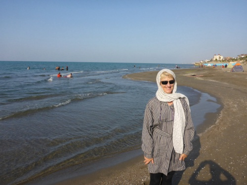 Not quite my idea of fun at the beach - Nur, Iran