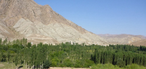 Heading south from Dor Badam, Iran