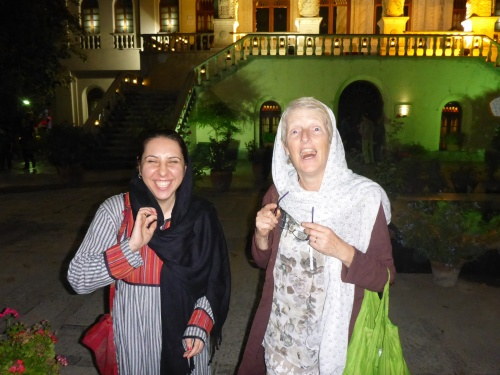 I love this photo - while totally unflattering of me, it reminds me of the great times we had with Saba - Tehran, Iran
