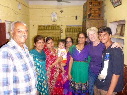 Our lovely friends in Ballia, India