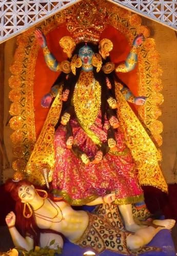 Kali, Diwali - Guwahati, India