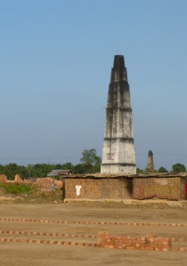 Another brick factory, south of Forbesganj, India