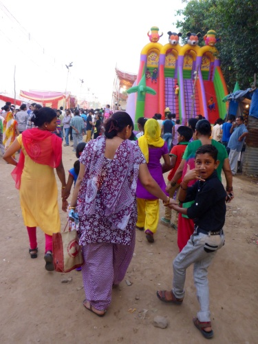 At Ramlila Ground, Delhi