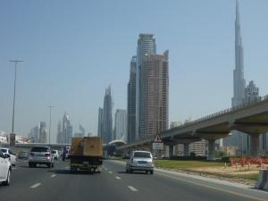 Off go the bikes to Dubai airport