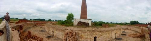 Brick kiln, India