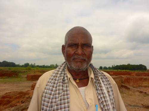 Brick factory owner, India