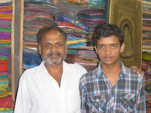 Rohan and his father Raju whom we are privileged to have met