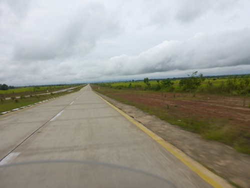 The Super Highway from Naypyitaw to Yangon