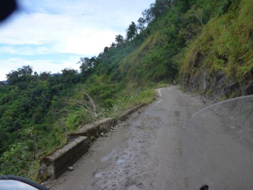 The road between Kawkareik and Myawaddy, Myanmar