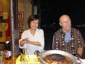 Atsuko and Micheal, Chiang Mai
