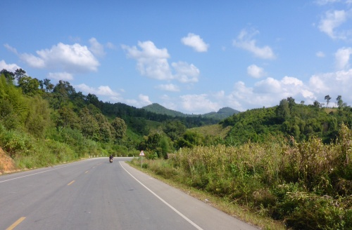 4b road to Sayaboury, Laos