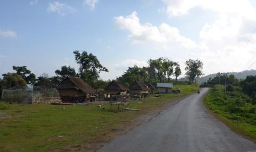 High plateau heading to Sayaboury, Laos